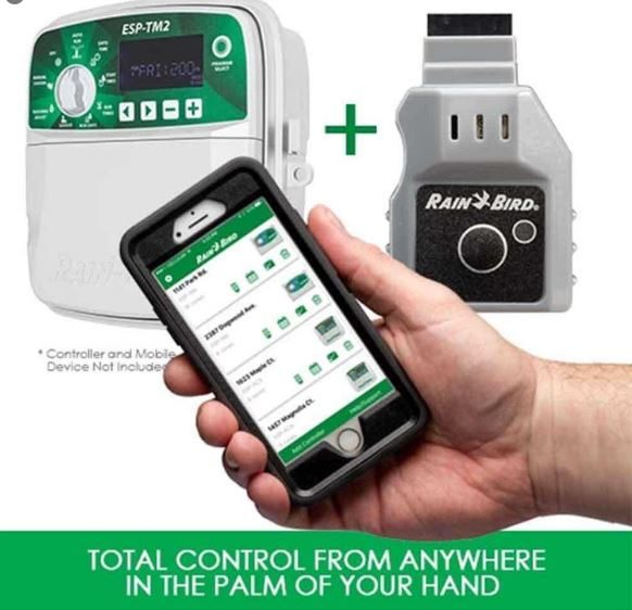 Irrigation Technology from Rainbird to help you save water